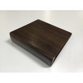 """3"""" Brown 3 ring binder (5/20/21)"""