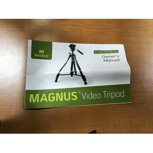 Magnus VT-350 Video Tripod - NEW (5/14/21)