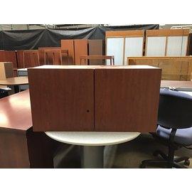"14 3/4x36x18 1/4"" Cherry overhead wall cabinet 5/25/21)"