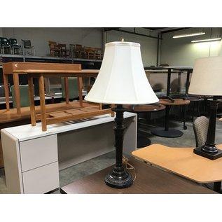 "31"" Bronze table lamp (6/10/21)"