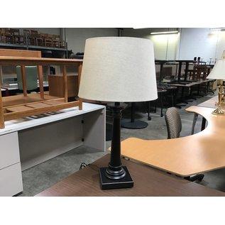 "28 1/2""  Black table lamp  (6/10/21)"