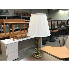 """34"""" Brass table lamp (6/10/21)"""