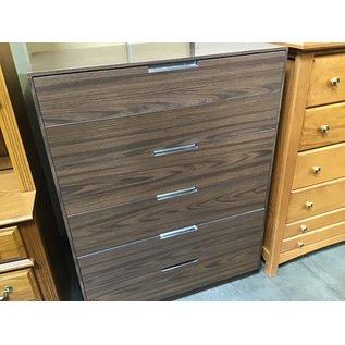 "18x36x49"" Wood dresser 6 shelf (6/15/21)"