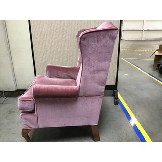 Pinkish color high back chair (6/24/21)