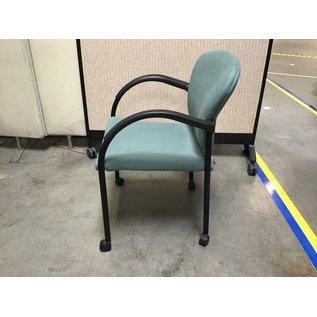 Lt. Green room chairs on castors (6/24/21)