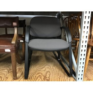 Gray padded sled base side chair (6/30/21)