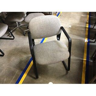 Lt gray padded sled base side chair (6/30/21)