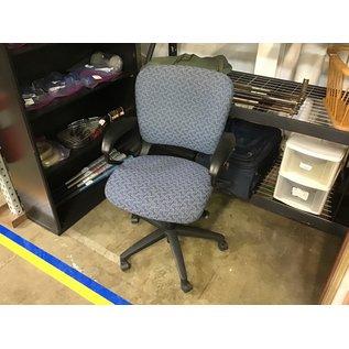 Blue pattern desk chair (6/30/21)