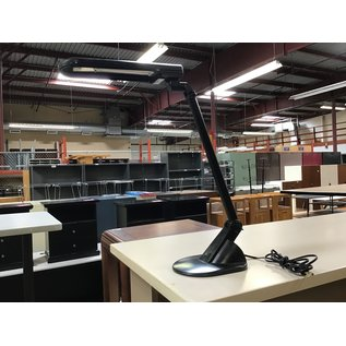 Black adjustable desk light (7/1/21)