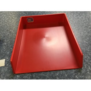Red letter tray  (7/6/21)