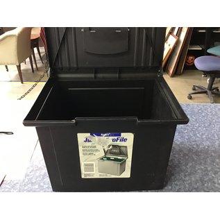 Black hanging file folders storage box (7/7/21)