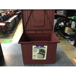Mauve hanging file folders storage box (7/7/21)