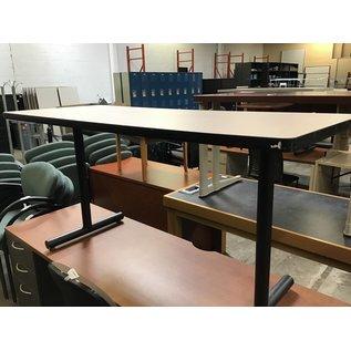 """24x60x29"""" beige top  work table (8/3/21)"""