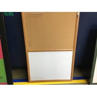 "23 1/2""x36""Quartet Whiteboard/ pegboard (8/12/21)"