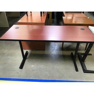 "24x60x29"" Cherry wood computer table (8/24/21)"