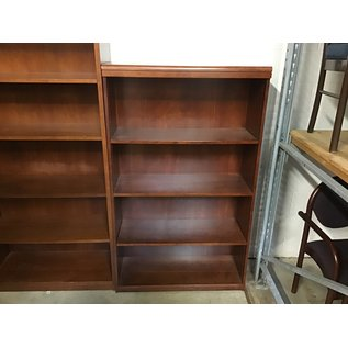 "15x36x50 1/2"" Cherry wood bookcase (8/25/21)"