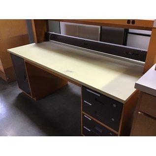 "30x72x48"" Work bench  w/ elec. recepts  5 drawers (8/25/21)"