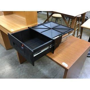 Black plastic rack mount drawer (8/25/21)