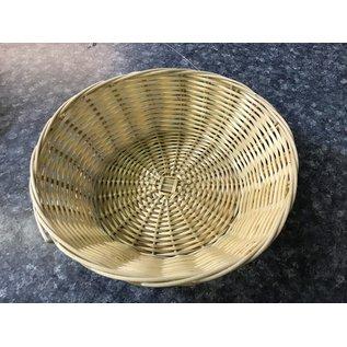"""8"""" round wicker basket (8/26/21)"""
