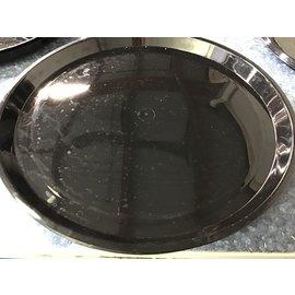 """16"""" Black plastic food tray (8/26/21)"""