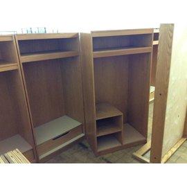 "24x36x72"" Wood wardrobe w/4 shelves (10/30/19)"