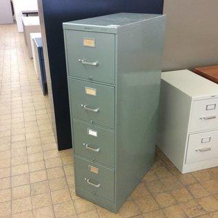 Green 4 Drawer vertical File Cabinet (10/15/2020))