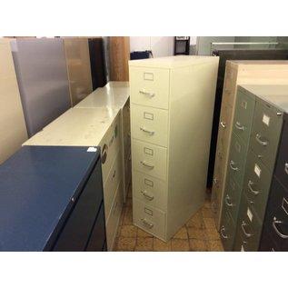 Beige Steelcase 4 drawer vertical file cabinet (3/4/21)