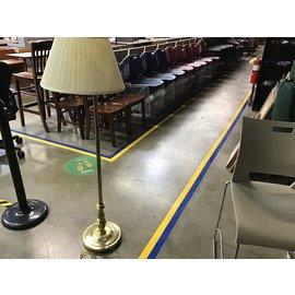 """55"""" Brass floor lamp (9/28/21)"""