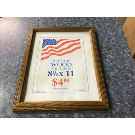 """10x12 1/2"""" Wood picture frame (10/12/21)"""