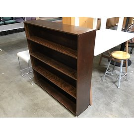 """12x48x50 1/2"""" Wood shelf unit - small chips throughout 10/19/21"""