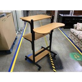 "32x35 1/2x48 3/4"" Mobile standing desk 10/19/21"