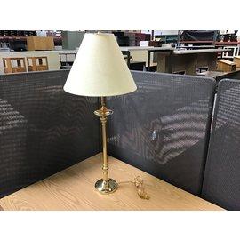 """Brass desk light 33"""" (10/20/21)"""