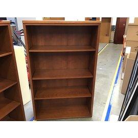 "13 1/2x36x57"" Oak bookcase 4 shelf (10/20/21)"