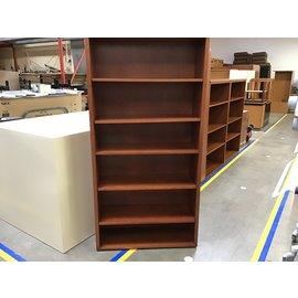 "13 1/2x36x72"" Oak bookcase 5 shelf (10/20/21)"