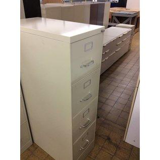 4 drawer Beige file cabinet 2/6/19