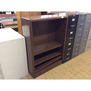 14x38x52 1/2 Brown metal Bookcase (10/06/2020)
