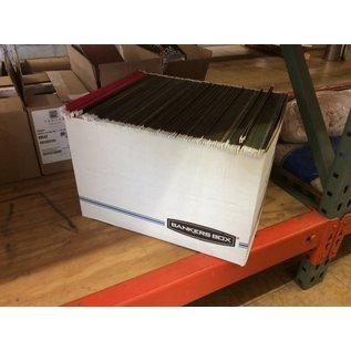 Box of Hanging File Folders letter size(4/15/2020)
