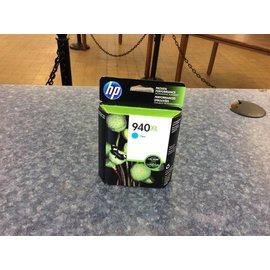 HP 940XL Cyan Ink Cartridge (10/10/18)