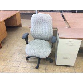 Beige Desk Chair with castors 7/9/19