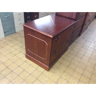 24x36x30 Cherry Wood 2 drawer Lateral File 12/20/18