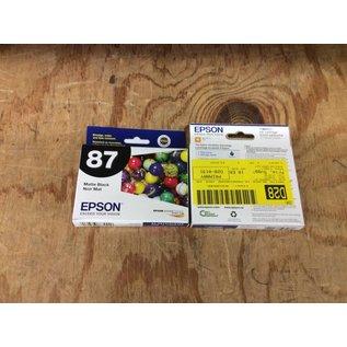 Epson Matte Black Printer Ink T087820 (5/21/18)