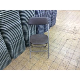Brown Plastic Folding Chair (4/26/2021)