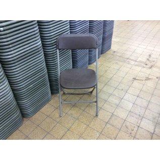 Brown Plastic Folding Chair (10/21/2020)