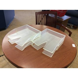 Clear Plastic 2 Tier Paper Tray (12/3/19)
