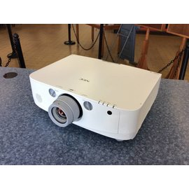 Nec PA550W Projector w/lens 1100hrs (5/11/21)