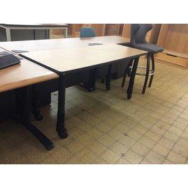 "24x60x29 1/2"" Wood top work table on castors (10/13/20)"