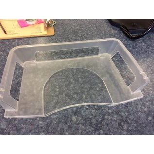 Clear plastic Paper Tray (8/14/18)
