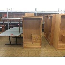 "24 3/4x36x72"" Wood Wardrobe w/ 3 Drawer (8/25/21)"