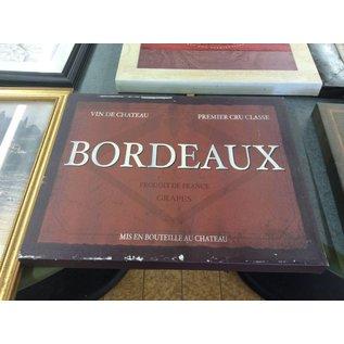 """16x19 3/4"""" Bordeaux canvas picture (10/11/18)"""