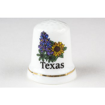 Texas Traditions WILDFLOWER THIMBLE
